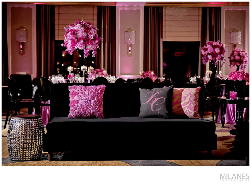 reception_room_decor_ideas_ellyb_events_andy_beach_black_pink_lounge_furniture
