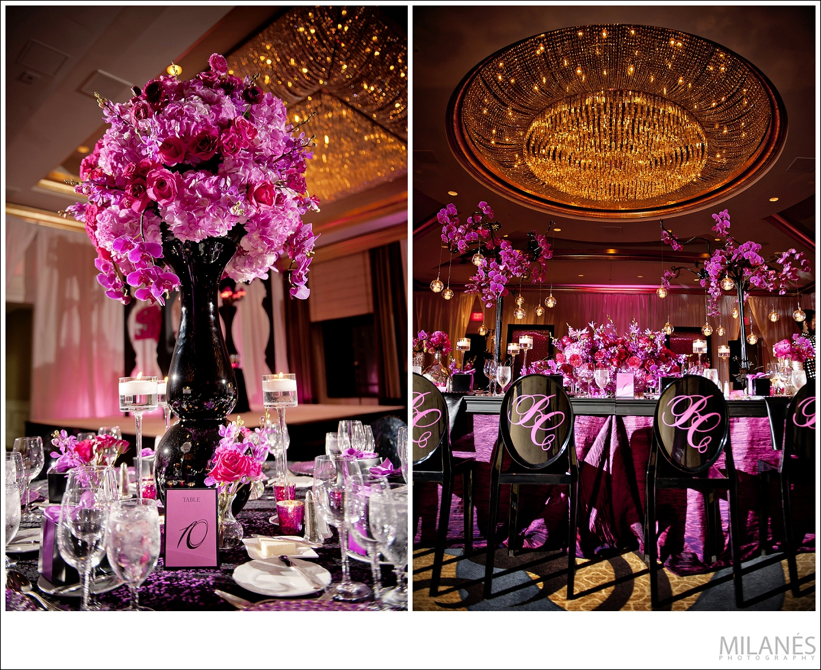 reception_room_decor_ideas_ellyb_events_andy_beach_black_vases_ghost_chairs_pink_flowers