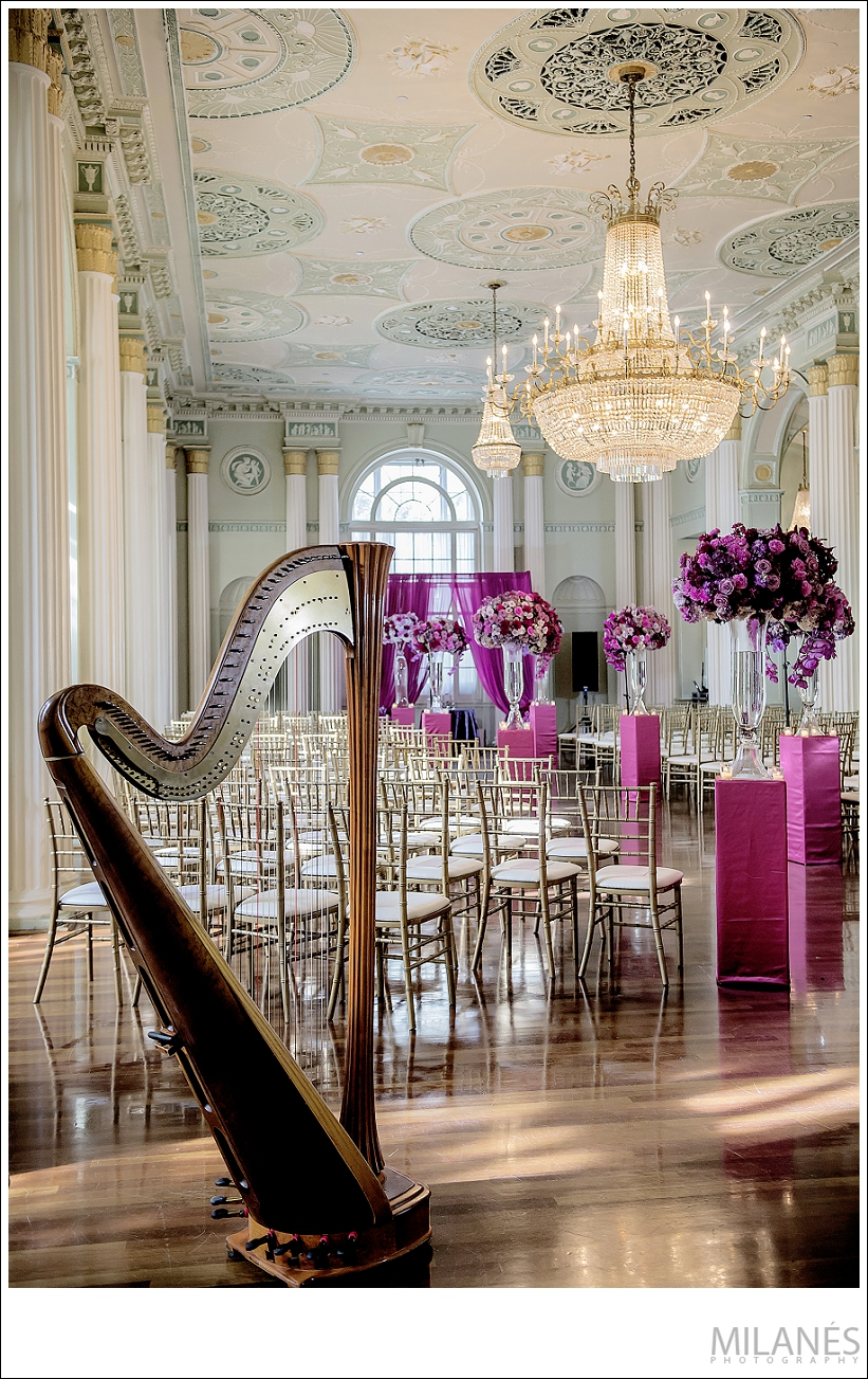 wedding_reception_harp_flowers_chandelier_beautiful_luxurious