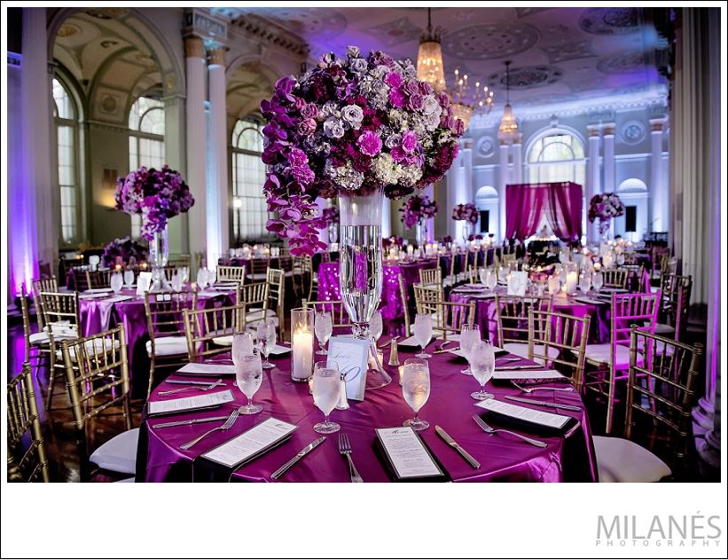 wedding_reception_flowers_purple_pink_teal_beautiful_luxurious