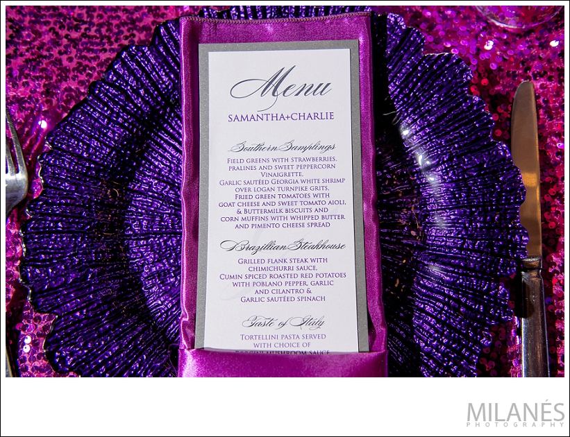 wedding_reception_stationary_menu_purple_pink