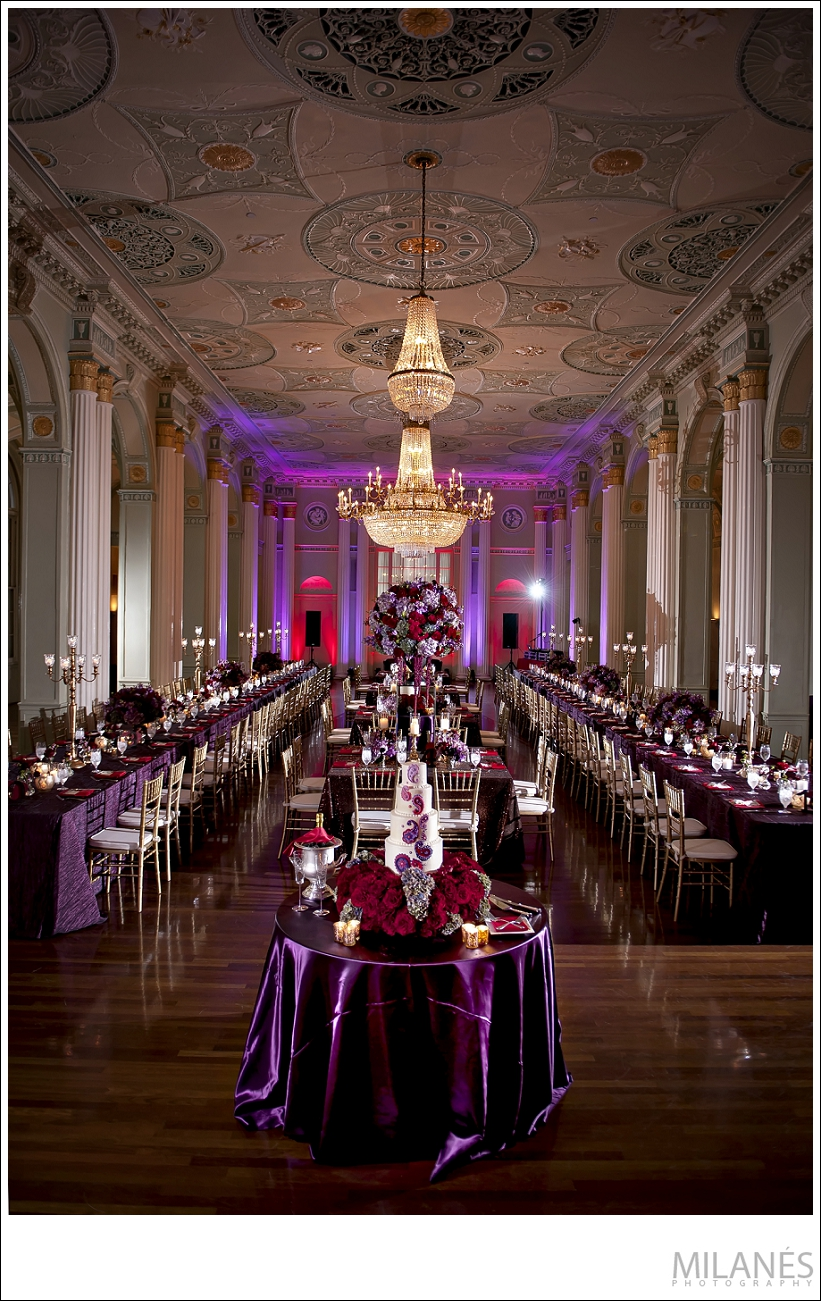 wedding_reception_decor_details_beautiful_table_arrangements_purple_red_flowers_unique_cake_chandelier_luxurious_elegant_creative_modern_ideas